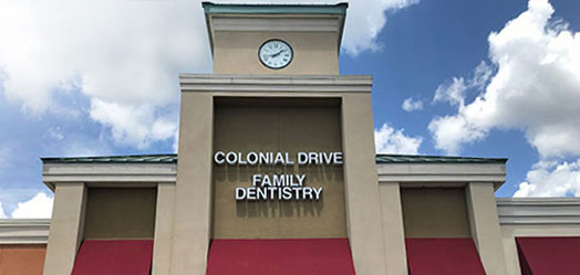 The office of Colonial Drive Family Dentistry